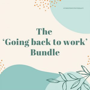 The 'Going Back To Work' Bundle